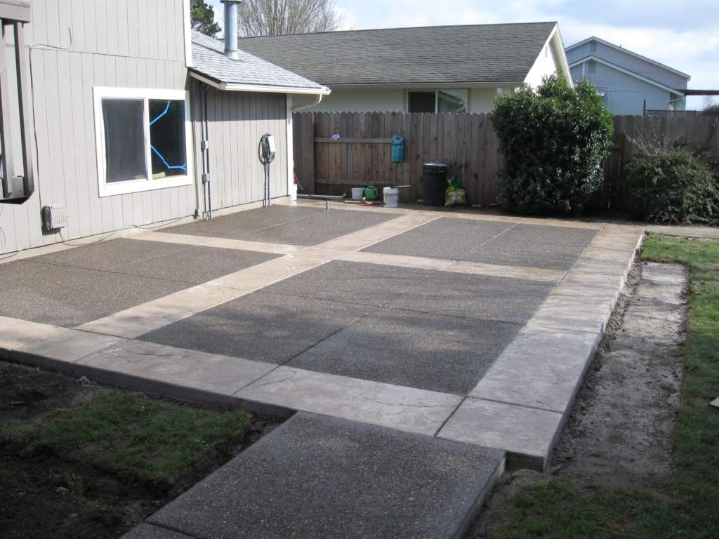 Stamped Concrete Patio Edmonton