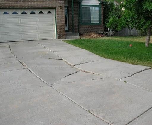 Edmonton Concrete Driveway Repair